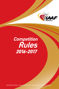 iaaf competition rules 2016-2017